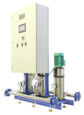 Моноблочная автоматическая установка повышенного давления SmartStation