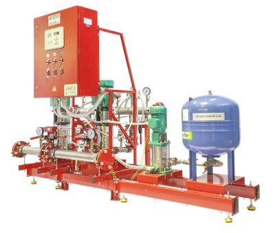 Моноблочные автоматические установки пожаротушения